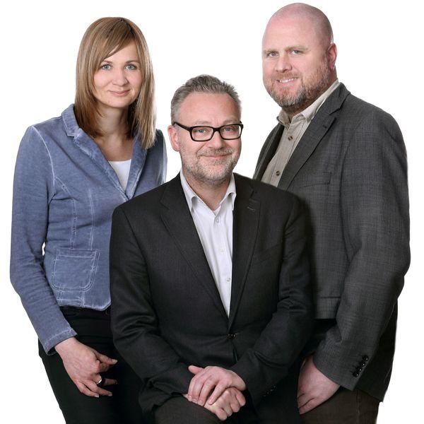 Ulf Weinhold, Katja Meyer, Stephan Scheele, die Anwälte der Weinhold Rechtsanwaltsgesellschaft mbH